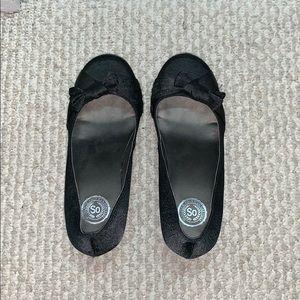 Black dressy high heels